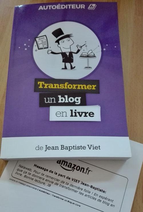 transformer un blog en livre jean baptiste viet