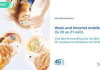 bouygues weekend data 4G illimitee