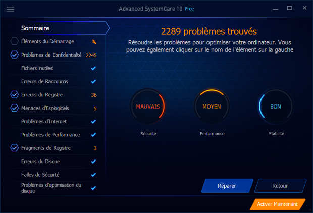 Advanced SystemCare 10