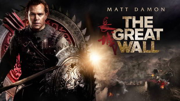 la grande muraille matt damon the great wall