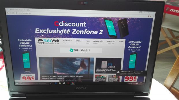 GT72VR 6RE-229FR MSI dominator 4k screen
