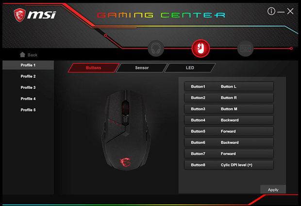 clutch GM60 gaming center