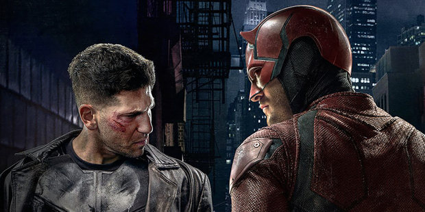 marvel daredevil the punisher