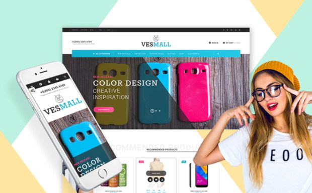 vesmall on templatemonster