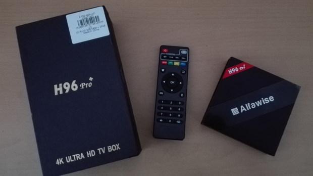 Test et avis de la box TV Alfawise H96 Pro+ - Nalaweb