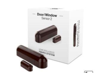 fibaro sensor 2 fgdw-002 z-wave detecteur ouverture porte fenêtre boite et capteur