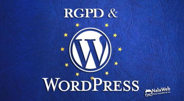 wordpress 4.9.6 RDPG GDPR