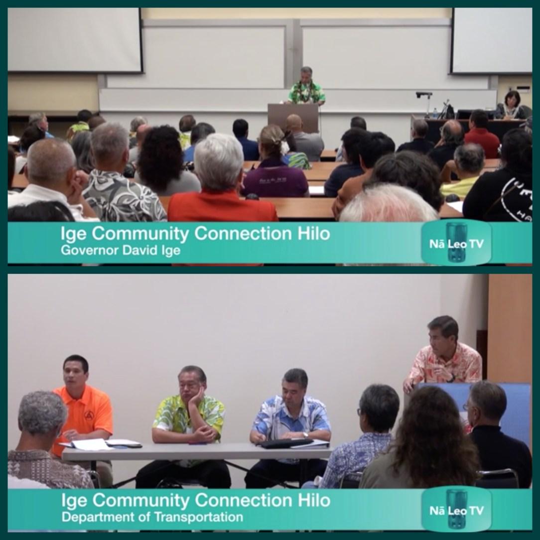 Dept. of Transportation – Gov. Ige\'s Community Connection | Nā Leo TV