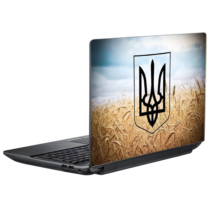 Наклейка на ноутбук Украина