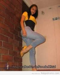 Alejandra Bordamalo, divina a rabiar en esos jeans