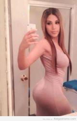 Qué sabrosa selfie!!! cinturita y traserote! cuerpazo!!!