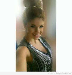 Cristina Vispo, selfie sonriente