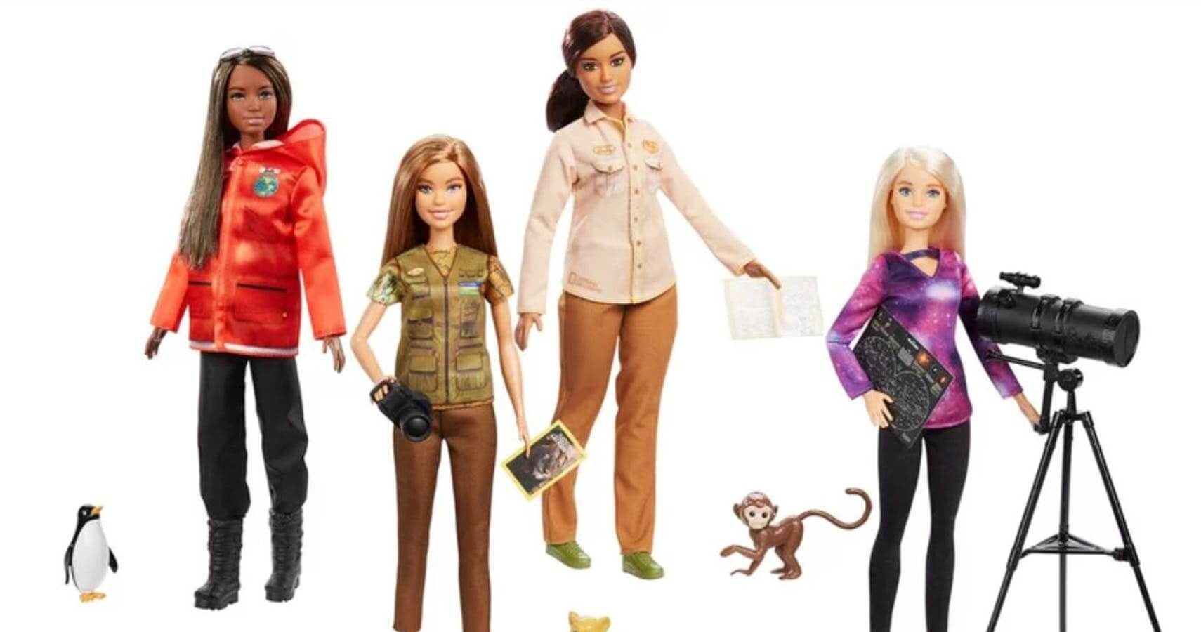 scientist barbies