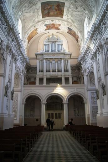 Organy w Kościele św.Piotra i Pawła w Wilnie