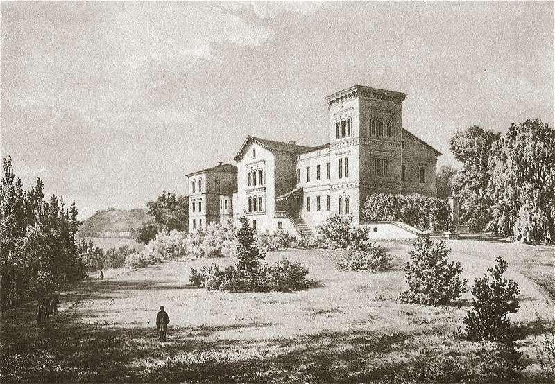 Dwór Tyszkiewiczów w XIX wieku