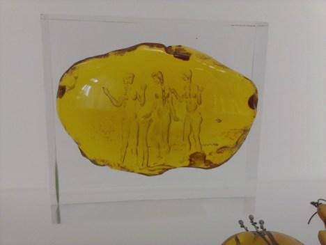 Palanga - eksponat w Muzeum Bursztynu