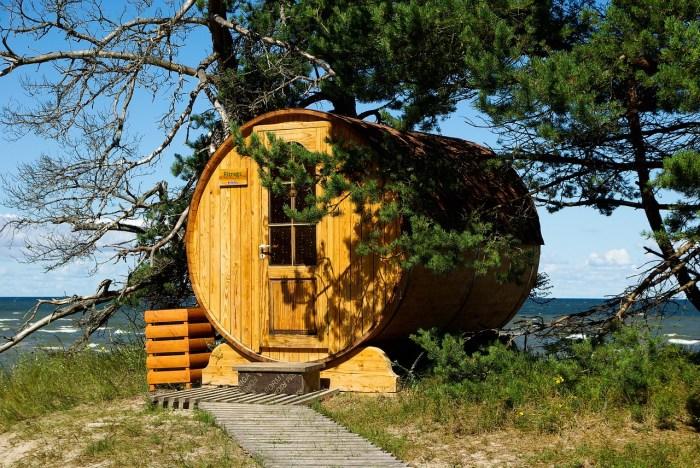 sauna nad morzem 10 zimowych atrakcji turystycznych na Litwie