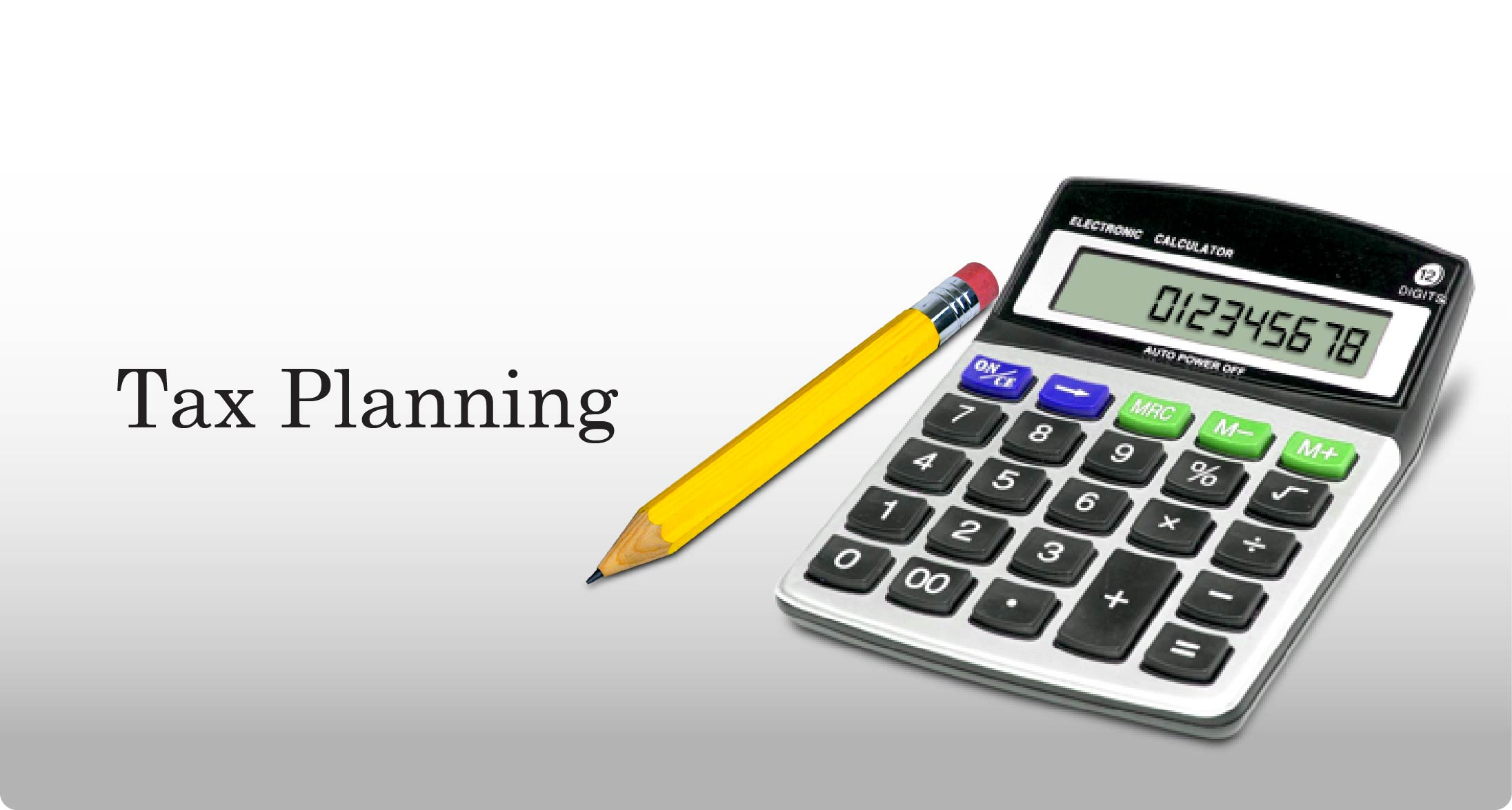 Tax Planning Strategies For Today