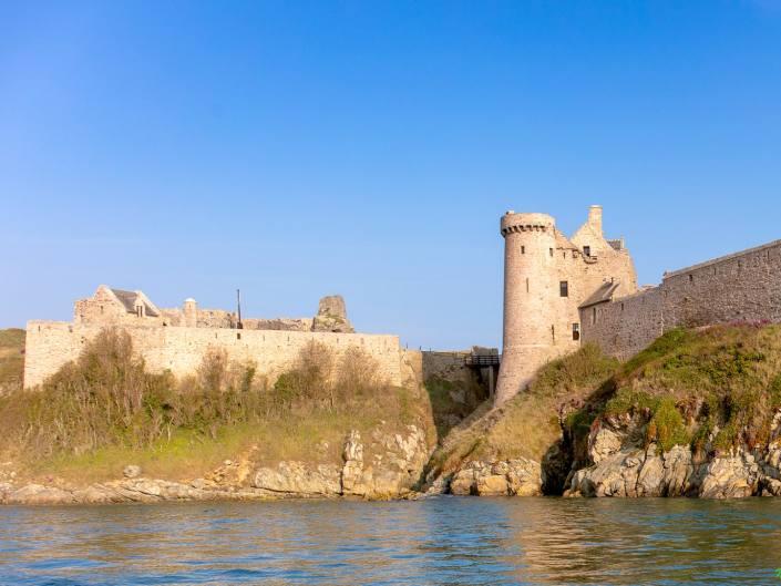 Château du fort La Latte par la mer