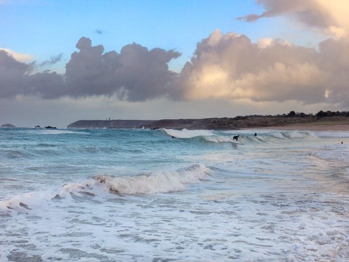 Surf plage de l'anse du croc