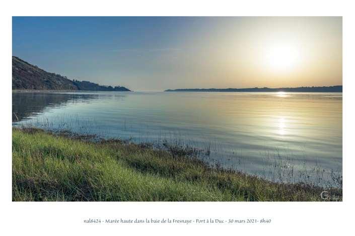 portfolio du photomarcheur - maree haute dans la baie
