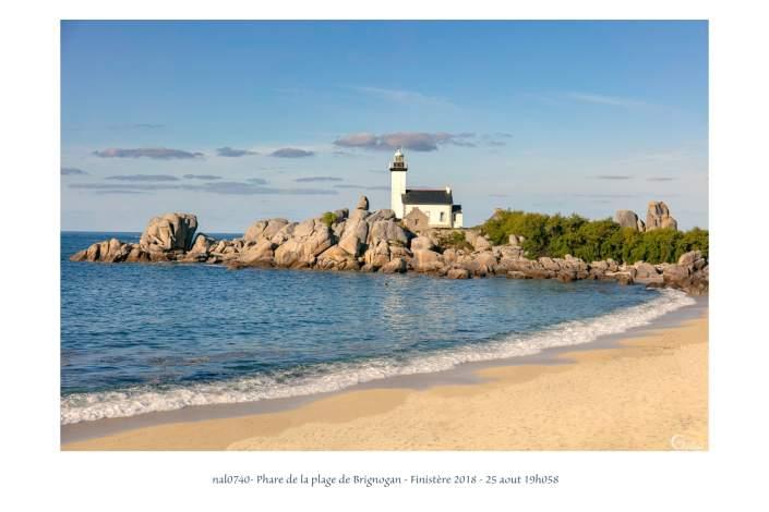 portfolio du photomarcheur - phare de la plage de Brignogan