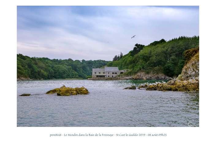 portfolio du photomarcheur - le moulin à marée de la Baie de la Fresnaye