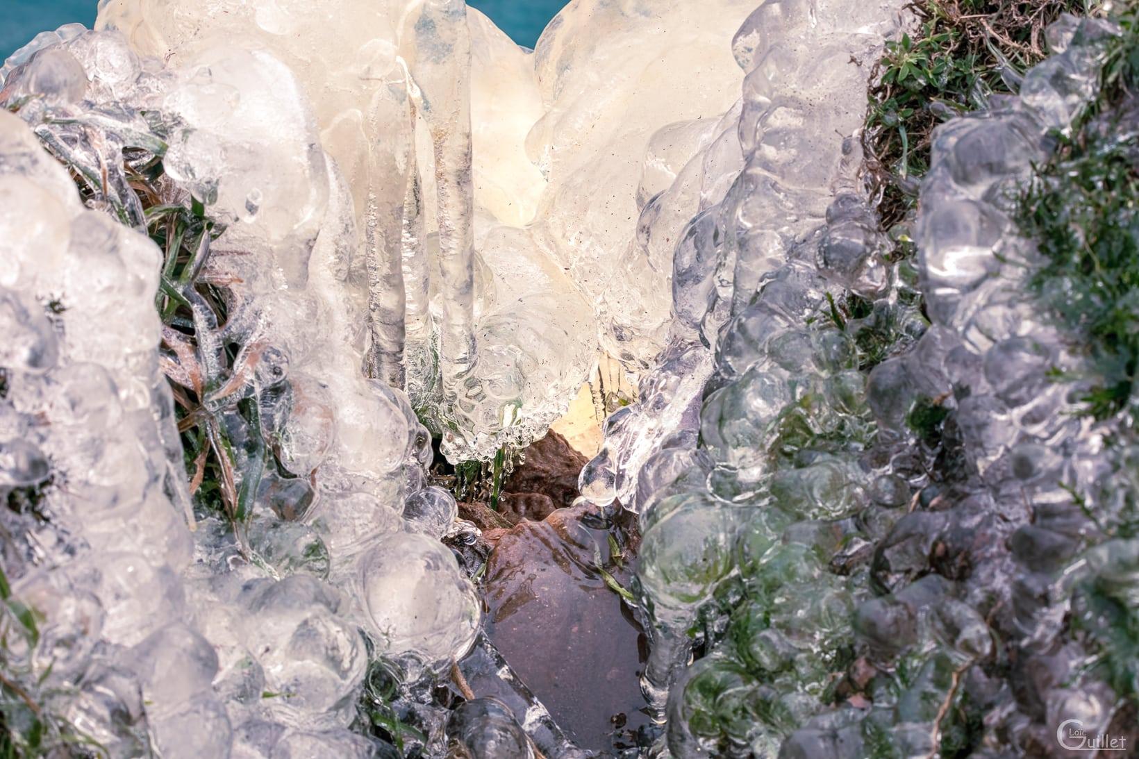 Source du phénomène se la cascade de glace