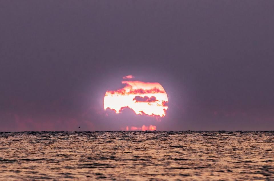 Coucher de soleil de printemps 2021 au Cap Fréhel