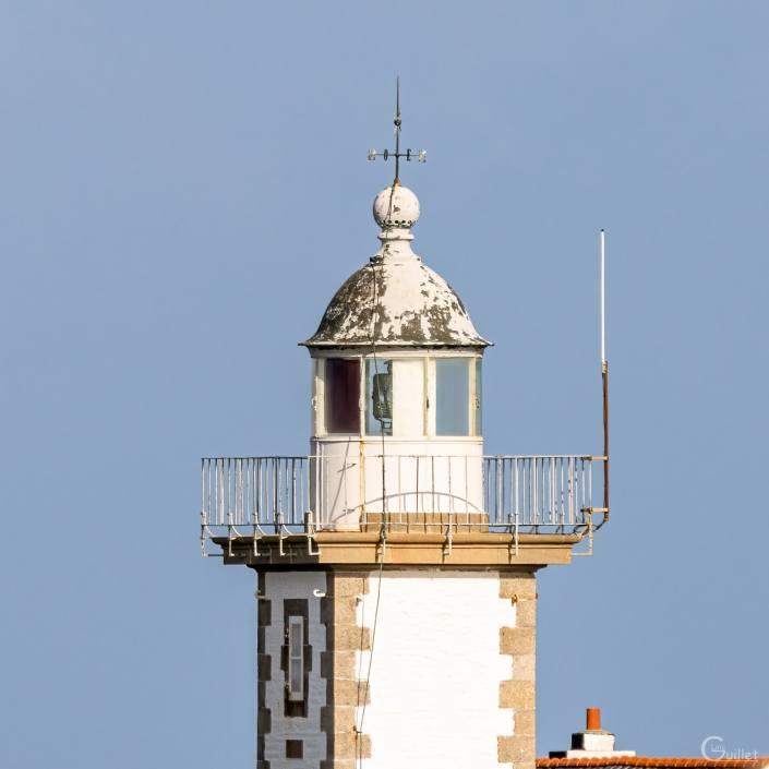 Crozon : Lanterne du phare du Toulinguet