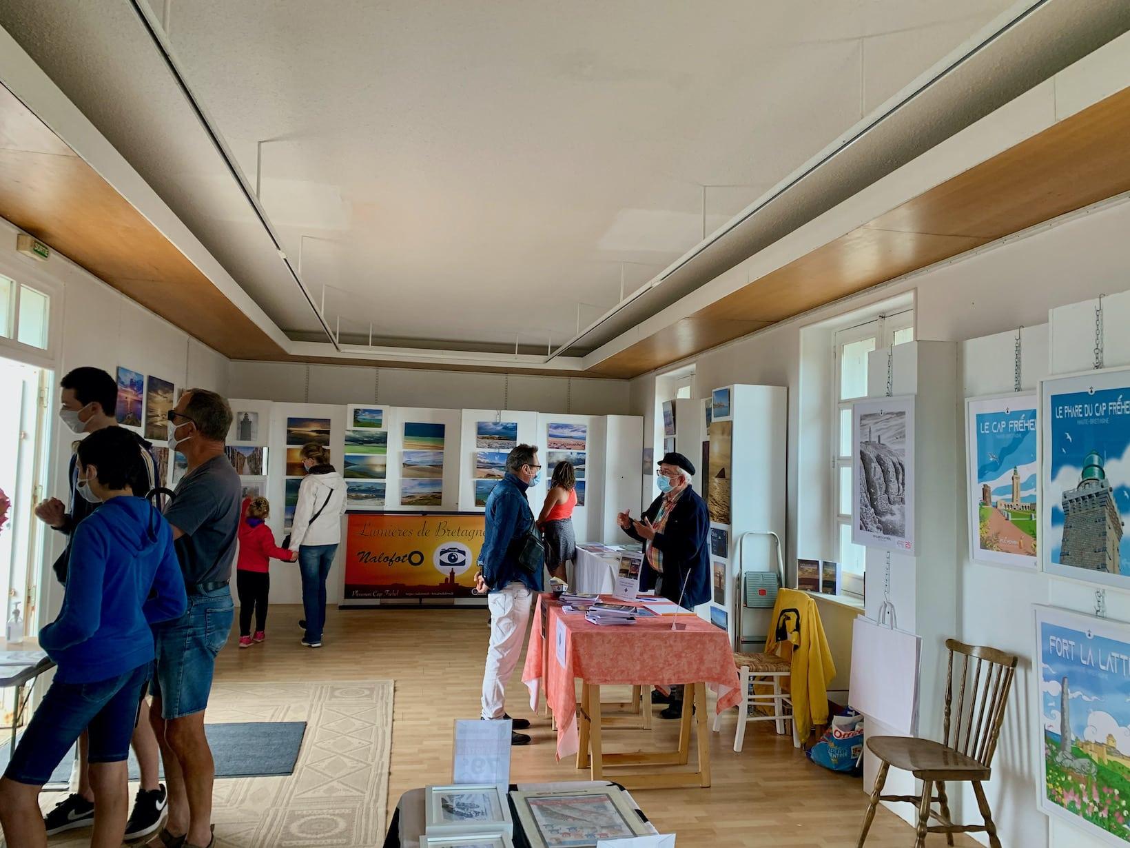 Expo août 2021 au Cap Fréhel