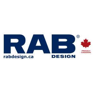 RAB lighting design colour logo