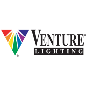 Venture lighting colour logo