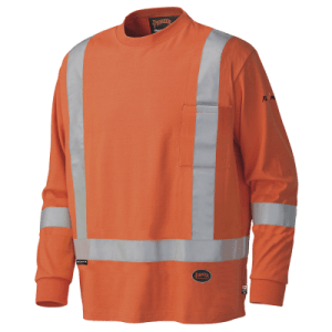 long sleeved safety shirt