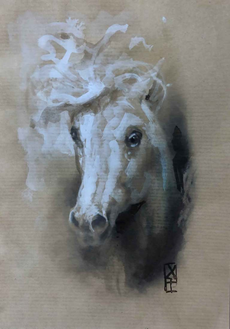 101-cheval-aquarelle