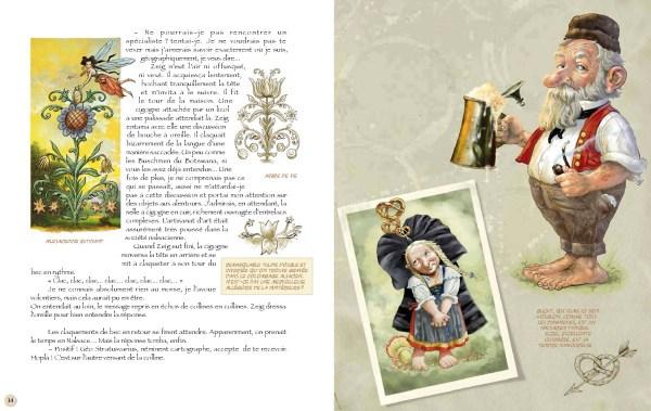 Pages 14 et 15 du tome 1
