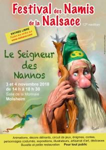 Affiche Festival Nalsace 2018