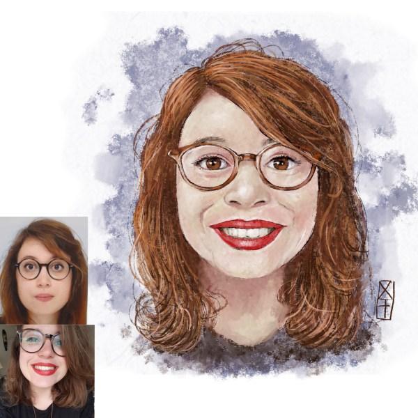 portrait d'Amandine