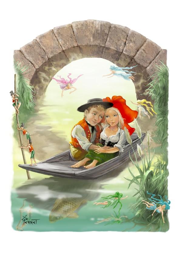 Barque des amoureux