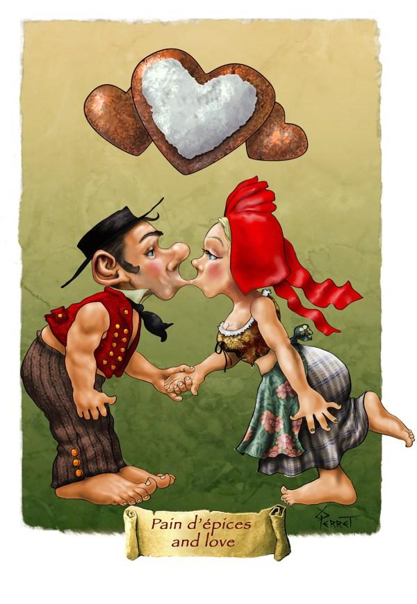 crte postale amoureux alsaciens