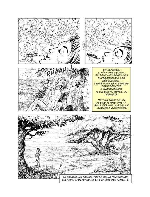 Page de la BD du Bretzel sacré