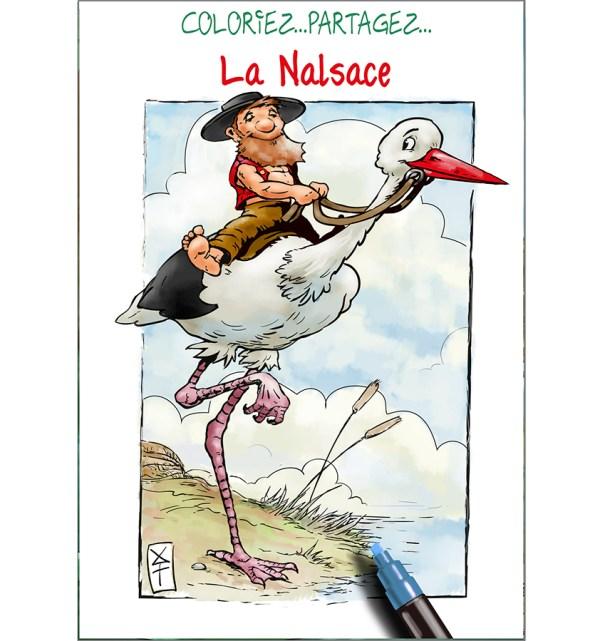 pochette de coloriage Nalsace