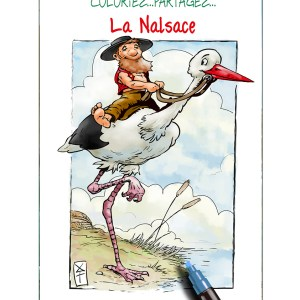 pochette - coloriage - nalsace - Alsace - Roland Perret