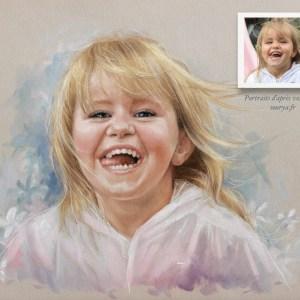 Portrait par Sourya Perret