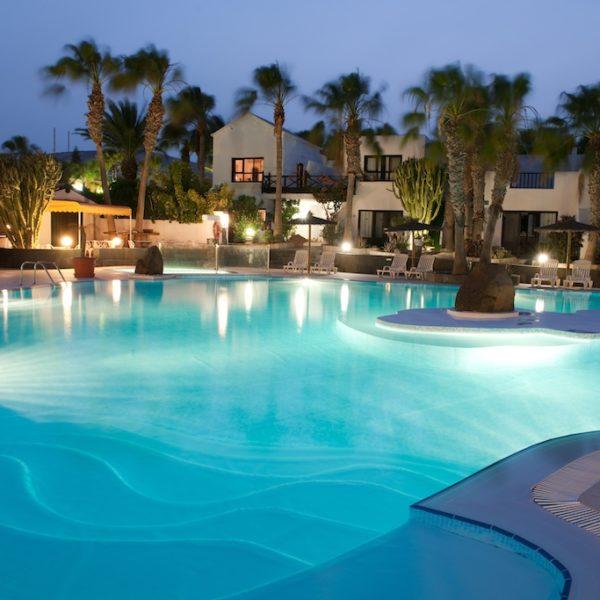 Pool Bahia Calma Surfcamp Fuerteventura