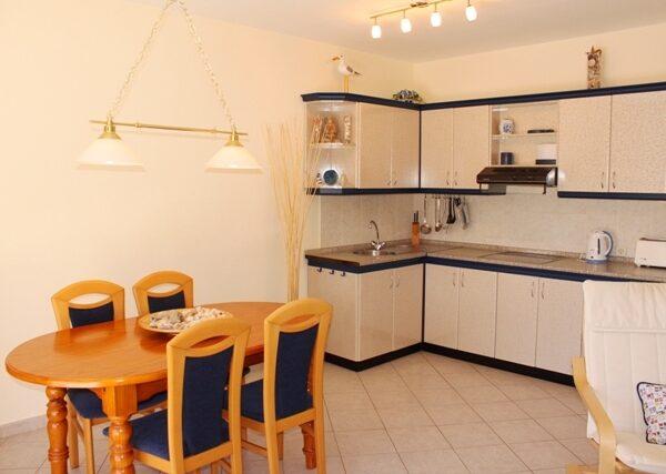 Apartment Küche Surfcamp La Pared Fuerteventura