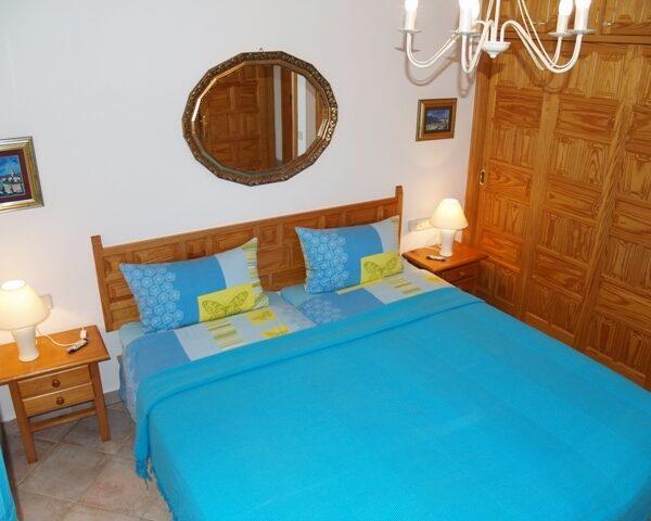 Villa Schlafzimmer Surfcamp La Pared Fuerteventura