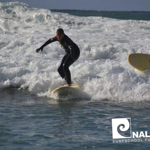 Nalusurf Surfschule Fuerteventura - Surfkurs La Pared Herbst 2018