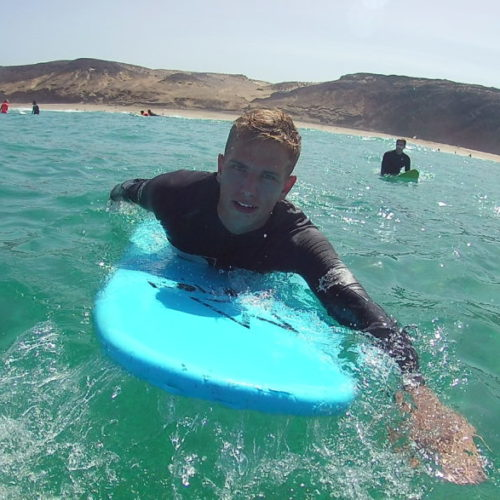 Surfkurs Fuerteventura - Oktober in La Pared