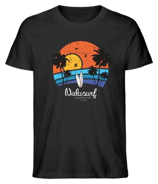 Herren Summer Sunset - Herren Premium Organic Shirt-16
